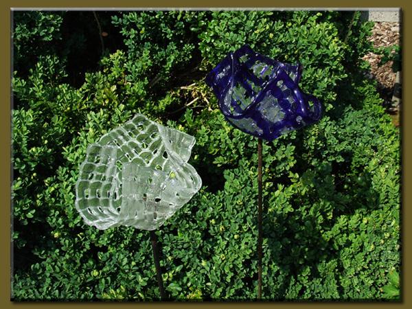 Gartenschmuck aus glas for Gartenschmuck aus glas